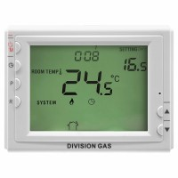 Termostat de pardoseala Division Gas DG 908DF, wireless, programabil