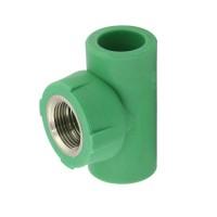 """Teu PPR, D, FI, 20 mm x 3/4"""", verde"""