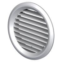 Grila ventilatie Vents MV125 BVS, rotunda, plastic, D 125 mm