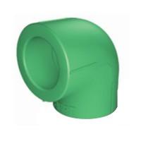 Cot PPR, 25 x 25 mm, verde, 90 grade