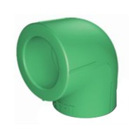 Cot PPR, 32 x 32 mm, verde, 90 grade