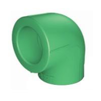 Cot PPR, 50 x 50 mm, verde, 90 grade