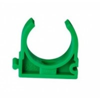 Clema suport teava PPR, D 32 mm, verde
