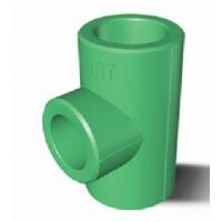 Teu PPR, D 25 mm, verde