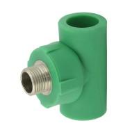 """Teu PPR, D, FE, 25 mm x 3/4"""", verde"""