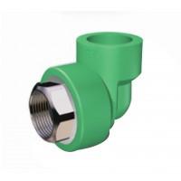 """Cot PPR, FI, 32 mm x 1"""", verde, 90 grade"""