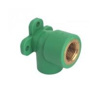 """Cot PPR, cu flansa, FI-FE, 25 mm x 1/2"""", verde"""