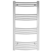 Calorifer baie Ferroli Talia, portprosop, curbat, alb, 600 x 1170 mm  + accesorii montaj