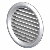 Grila rotunda, pentru ventilatie, Vents MV 150BVS, D 150 mm