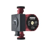 Pompa de circuatie electronica Ferro Weberman clasa A GPA II Q max. 2.4 mc/h, H max. 4.1 m, 230 V