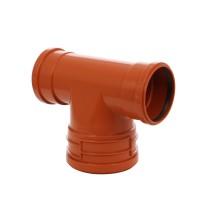 Baza curatire, pentru retele de canalizari exterioare, PVC, KGET FP, 160 x 200 x 160 mm
