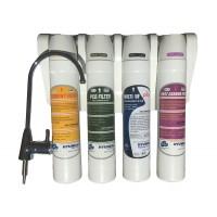 Sistem de filtrare apa Hyundai, montare sub chiuveta bucatarie, HQ - 7 4F
