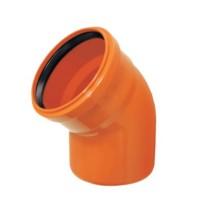 Cot PVC cu inel, D 125 mm, 30 grade