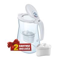 Cana filtrare apa potabila Aquaphor Onyx, 2 cartuse incluse, 4.2 L