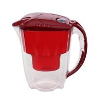 Cana filtrare apa potabila Aquaphor Jasper, capac rosu, 2.8 l + cartus filtrant B25 Maxfor cu Mg
