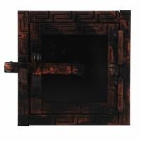 Portita horn Aba, metal, 150 x 150 mm