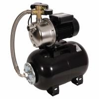 Hidrofor Wasserkonig WKPX3100-42/25H, cu pompa autoamorsanta din inox + vas 24 L + presostat + manometru + furtun flexibil + racord 5 cai, 850 W