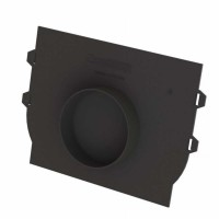 Placa capat PP, pentru rigola DN 200 mm H 200 mm, cu iesire