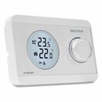 Termostat de ambient pentru centrala, wireless, Motan HT 220S SET, neprogramabil