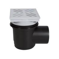 Sifon pentru pardoseala Eurociere, 1 iesire, polipropilena, 150 x 150 mm