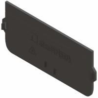 Placa capat PP, pentru rigola DN 100 mm H 55-80 mm, fara iesire