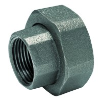 "Racord semiolandez Ferro, pentru pompa de circulatie, fonta, set 2 buc, 1 1/2"" x 1"""