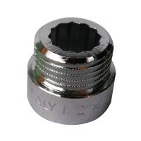 """Prelungitor alama, cromat, FI-FE, 10 mm x 1/2"""""""