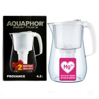 Cana de filtrare apa Aquaphor Provance, 2 cartuse incluse, alb, 4.2 L