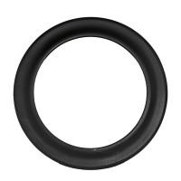Rozeta burlan, otel, negru, D 120 mm