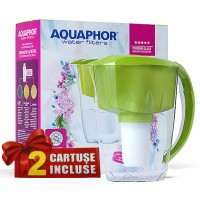 Cana filtrare apa potabila Aquaphor Arctic, 2.8 L + 2 cartuse filtrante A5