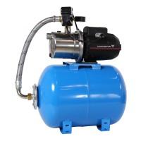 Hidrofor cu pompa electrica centrifuga Grundfos JP 4 - 54 + rezervor 50 L + presostat + manometru + furtun flexibil + racord, 1130 W
