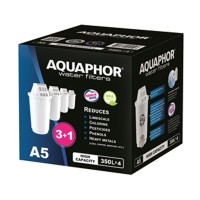 Cartus Aquaphor A5, plastic, 4 buc / set