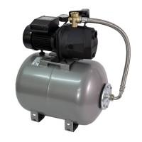 Hidrofor Wasserkonig W3600-42/50H, cu pompa autoamorsanta din fonta + vas 50 L + presostat + manometru + furtun flexibil + racord 5 cai, 800W