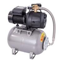 Hidrofor Wasserkonig W4100-45/25H, cu pompa autoamorsanta din fonta + vas 24 L + presostat + manometru + furtun flexibil + racord 5 cai, 950W