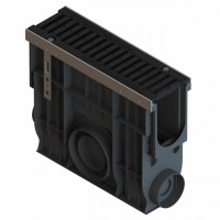 Kit camin colector PP, pentru rigola LN 100, D400