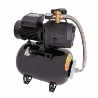 Hidrofor Wasserkonig W5000-54/25H, cu pompa autoamorsanta din fonta + vas 24 L + presostat + manometru + furtun flexibil + racord 5 cai,  1300W