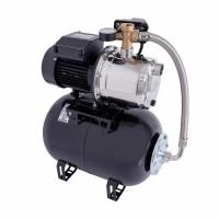Hidrofor Wasserkonig WX4200-46/25H, cu pompa autoamorsanta din inox + vas 24 L + presostat + manometru + furtun flexibil + racord 5 cai,  1000W