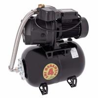Hidrofor Wasserkonig W4400-46/25H, cu pompa autoamorsanta din fonta + vas 24 L + presostat + manometru + furtun flexibil + racord 5 cai, 1000 W