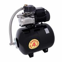 Hidrofor Wasserkonig WX4700-53/50H, cu pompa autoamorsanta din inox + vas 50 L + presostat + manometru + furtun flexibil + racord 5 cai, 1250 W