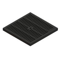 Gratar pentru camin StandartPark, PP, negru, A15, 300 x 300 mm