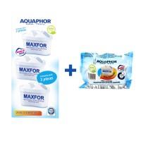 Cartus pentru apa potabila Aquaphor Maxfor B25, 200 L, set 4 buc