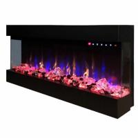 Focar electric Dalas maxi, negru, 1500 W, 1270 x 484 x 200 mm