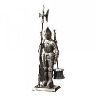 Set Cavaler, accesorii pentru semineu, metal, 530 mm