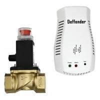 "Detector gaz metan + electrovalva Deffender SDI, 230 V, 3/4"""