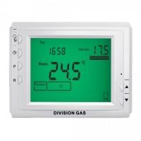Termostat de ambient pentru centrala, cu fir, Division Gas DG909, programabil