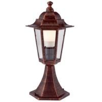 Stalp de iluminat ornamental London 6104C, 1 x E27, 41 cm, cupru