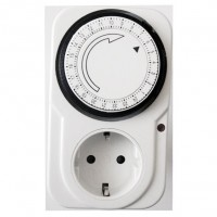 Priza programabila mecanica TIMER-01-W, 16A