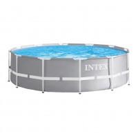 Piscina cu cadru metalic Intex 26716NP , rotunda, cu pompa de filtrare, 366 x 99 cm