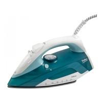 Fier de calcat Beko SIM4123T, 2300 W, talpa ceramica, 0.30 l, 120 g/min, sistem auto-curatare, alb cu albastru