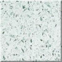 Blat pentru lavoar baie, Arthema Maya, starlight white M84 -SWHI, granit recompus, 84 x 57 x 2 cm